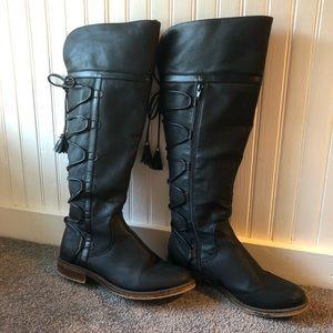 Nordstrom Rack Black Boots